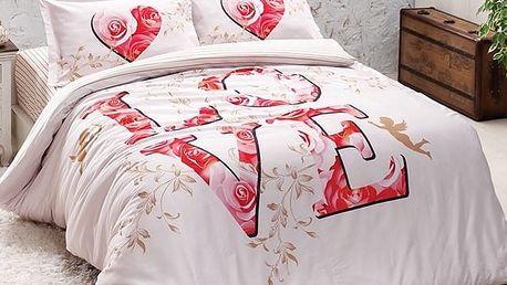 Haley home Povlečení Love Amore bavlna