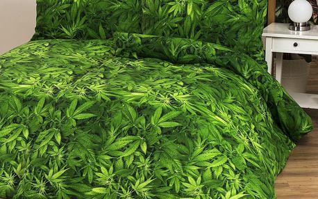 4Home bavlněné povlečení Aromatica, 140 x 200 cm, 70 x 90 cm, 140 x 200 cm, 70 x 90 cm