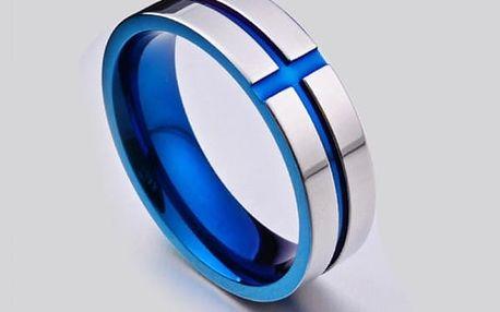 Pánský prsten - modrý