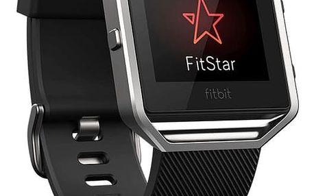 Chytré hodinky Fitbit Blaze L - černá