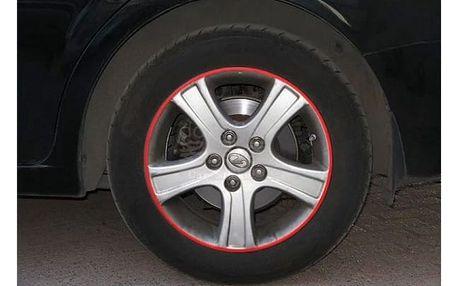 Reflexní proužky na kola auta či motocyklu - 7 barev