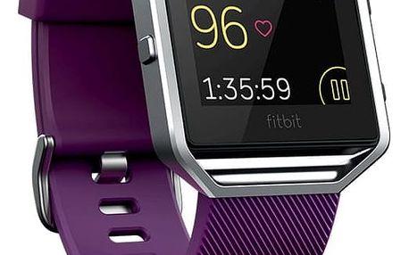 Chytré hodinky Fitbit Blaze L - fialová