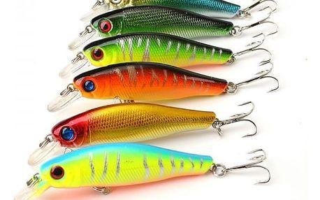Návnada na rybaření s háčkem - 6 kusů