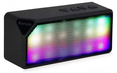 Bezdrátový bluetooth reproduktor s LED osvětlením