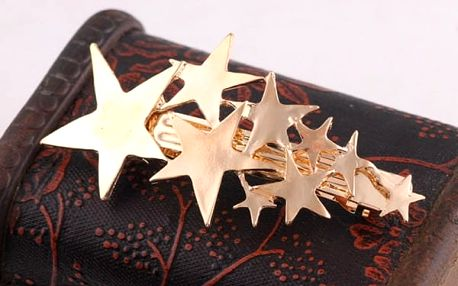 Spona do vlasů s hvězdičkami