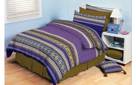 TipTrade bavlna povlečení Akira Fialové 140x200 70x90