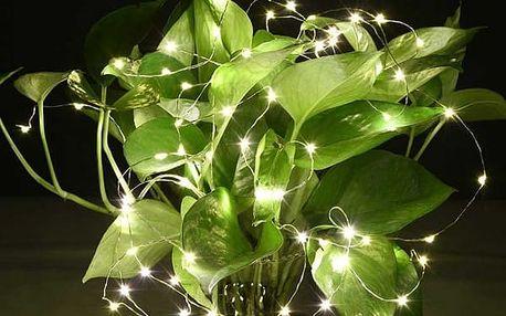 LED světelný řetěz - 6 ks v balení