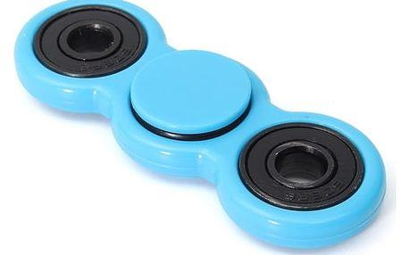 Fidget spinner - ruční antistresové ložisko v modré barvě