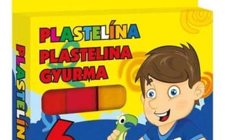 Modelovací plastelína - 6 barev - dodání do 2 dnů