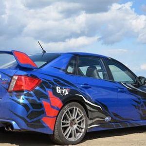 Zážitková jízda v Subaru WRX na silnici v Českém Krumlově a Českých Budějovicích včetně paliva
