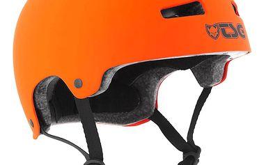Přilba TSG Evolution Solid Color oranžová matná, L / XL