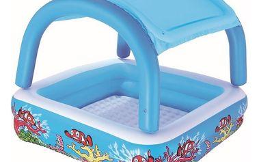 Dětský bazén se stříškou 147x147x122 cm