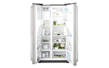 Kombinace chladničky s mrazničkou Electrolux EAL6140WOU šedá