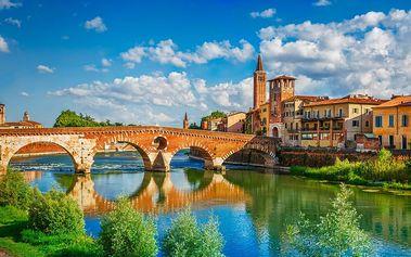 4denní zájezd do Itálie pro 1 osobu včetně dopravy, 1x ubytování a snídaně, duben-říjen 2017