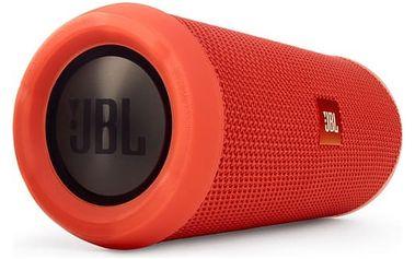 Přenosný reproduktor JBL Flip3 oranžový + dárek
