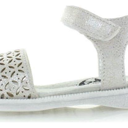Dětské stříbrné sandály XTI 55002