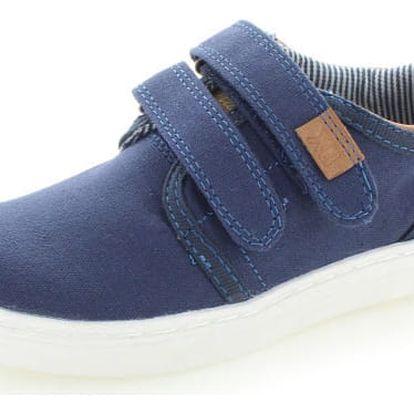 Dětské tmavě modré zalepovací boty Xti 54833