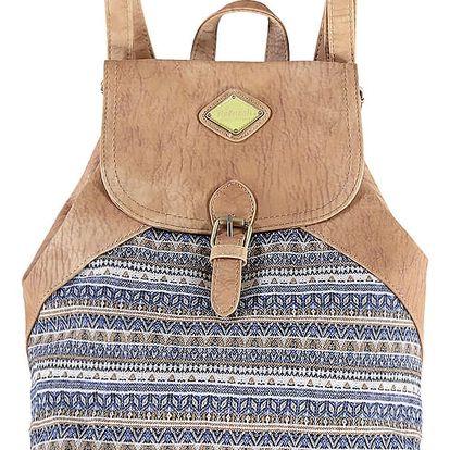 Hnedý ruksak Refresh 83073