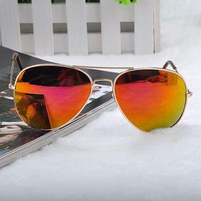 Sluneční brýle v mnoha variantách - pilotky