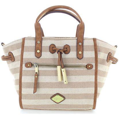 Béžová kabelka Refresh 83058