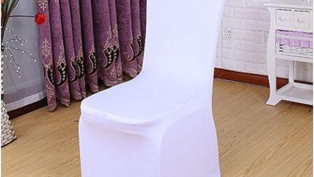 Elastický potah na židli - nevzorovaný ve více barvách