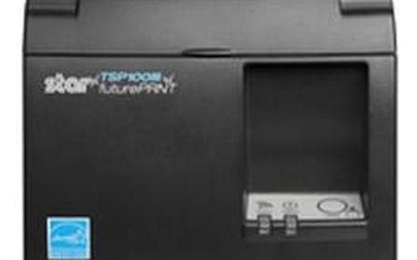 Tiskárna Star Micronics TSP143IIBI Černá, BT, řezačka, 4 roky záruka