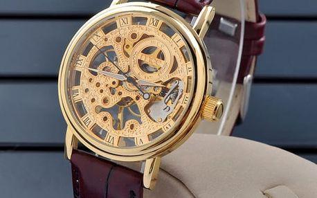 Pánské mechanické náramkové hodinky