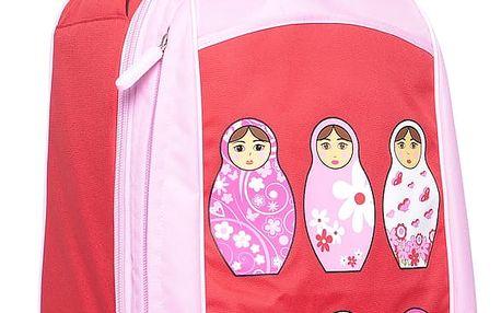 Dětský kufr na kolečkách Matrjošky
