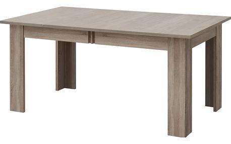 Konferenční stolek BOSTON T22, dub truflový/bronzový lesk