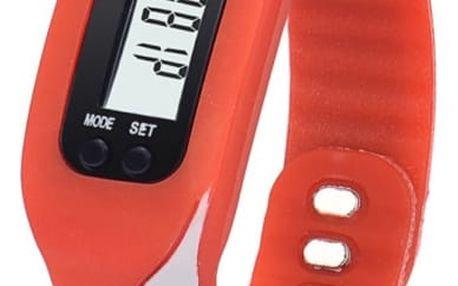 Digitální hodinky s krokoměrem - 6 barev