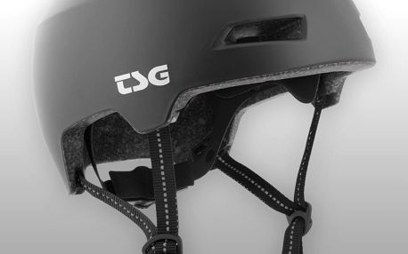 Přilba TSG Status Solid Color černá, L / XL