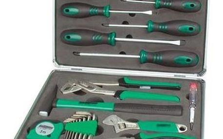 Sada nářadí Mannesmann v kufru, 24 ks, chrom-vanadium