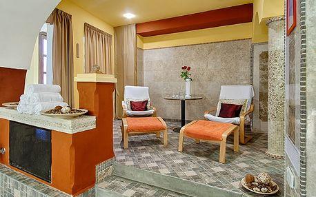120min. lázeňský balíček pro dva: sauna, římská lázeň, pohoštění v 5* Hotelu Hoffmeister