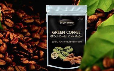 Zelená káva se skořicí 250 g