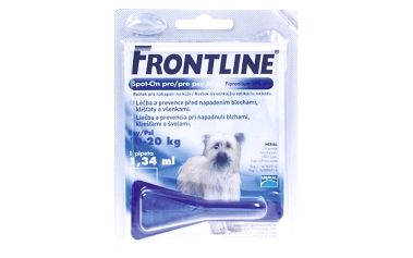 Pipeta Frontline Spot - On Dog M 1 x 1,34 ml (pes 10 - 20kg) modrá