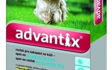 BAYER Advantix pro psy spot.on.od 4-10kg a.u.v.1x1ml