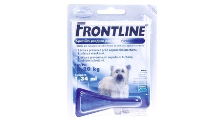 Pipeta Frontline Spot - On Dog M 1 x 1,34 ml (pes 10 - 20kg) modrá