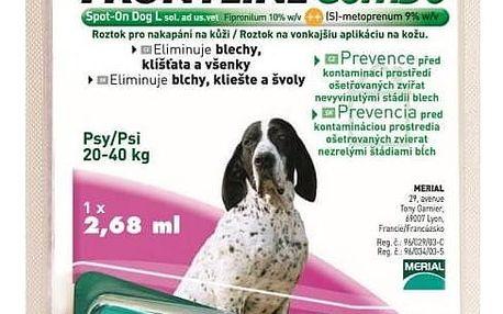 Frontline Combo Spot-on Dog XL sol 1x4,02ml, pro obří psy