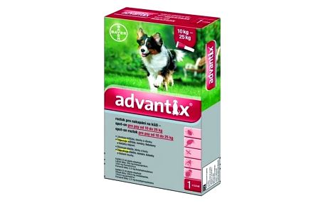 Pipeta Bayer Advantix Spot - On 1 x 2,5 ml (pes 10 - 25kg)