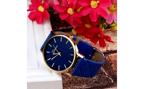 Dámské hodinky s prošívaným páskem - 7 barev