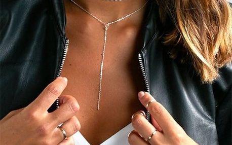 Vícevrstvý náhrdelník pro dámy - dodání do 2 dnů