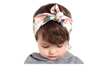 Nádherná čelenka pro děti na uzlík - více variant