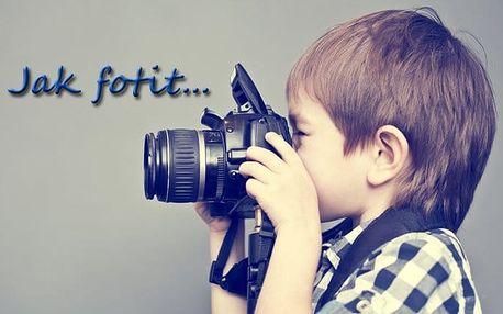 Dvoudenní kurz fotografování pro začátečníky i mírně pokročilé v Praze s Martinem Valentem