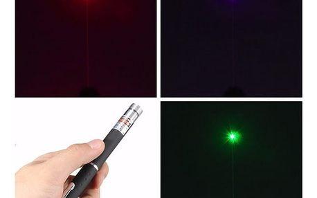 Výkonné laserové ukazovátko - červená - dodání do 2 dnů