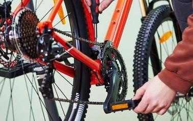 Důkladný servis kola – dokonale seřízené kolo
