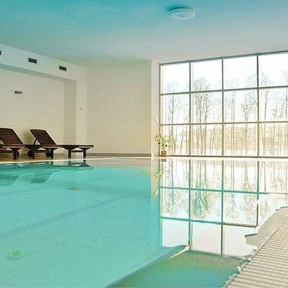 2–4denní wellness pobyt pro 2 osoby s polopenzí v apartmánech Hecht u Lipna