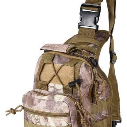 Taktická outdoor pánská taška ve čtyřech variantách