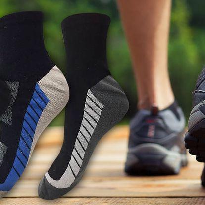 6 párů pánských funkčních trekových ponožek