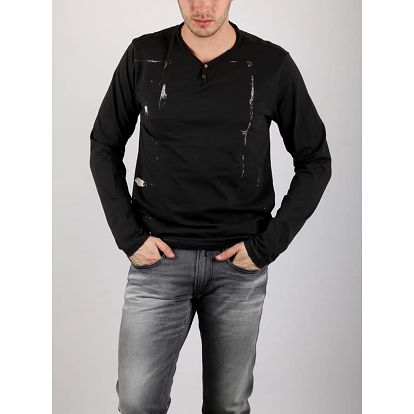 Tričko Replay M6509 XL Černá