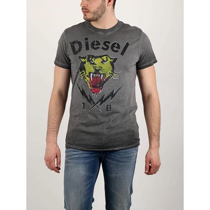 Tričko Diesel T-SONS MAGLIETTA L Černá